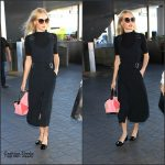 Jaime King – LAX Airport in Los Angeles, October 2015