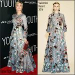 Jane Fonda In Valentino  At 'Youth' LA Premiere