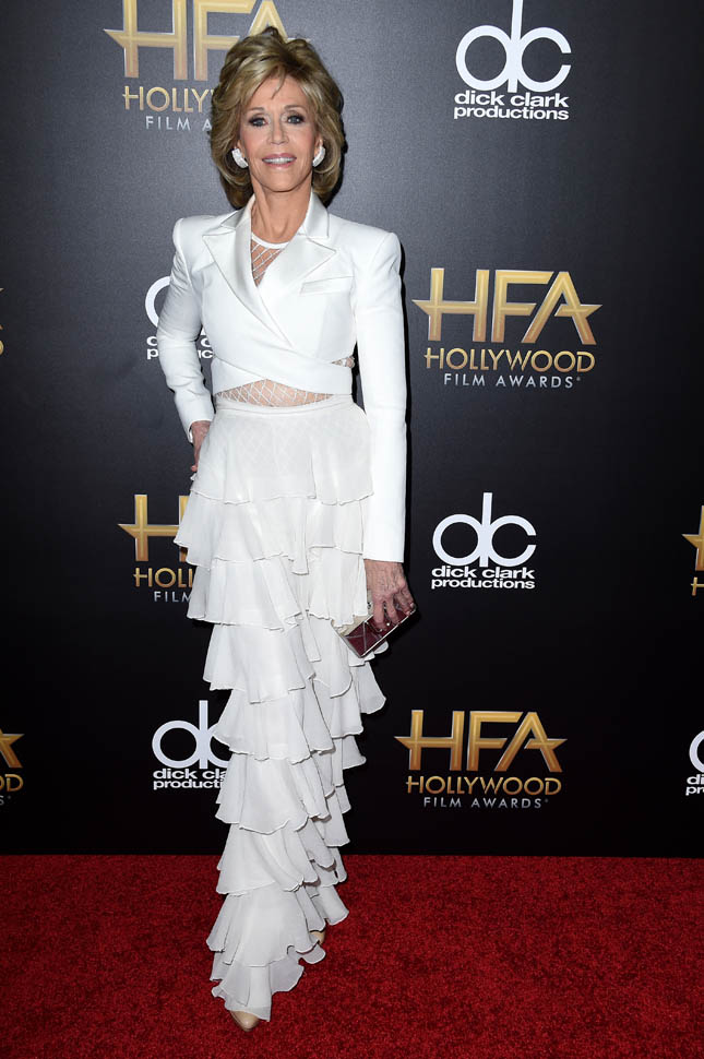 jane-fonda-19th -Annual -Hollywood -Film -Awards - Arrivals