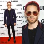 Jared Leto in Gucci  at  the 2015 Glamour Women of The Year Awards