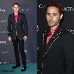 Jared Leto in Gucci at the LACMA 2015 Art+Film Gala