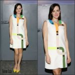 Jena Malone In Peter Pilotto  At  Despierta America