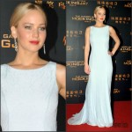 Jennifer Lawrence In Christian Dior Couture At 'The Hunger Games Mockingjay Part 2' Beijing Premiere