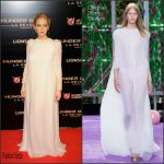 Jennifer Lawrence In Christian Dior Couture – 'The Hunger Games: Mockingjay Part 2' Paris  Premiere