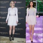 Jennifer Lawrence In Christian Dior Couture – 'The Hunger Games: Mockingjay Part 2' Paris Photocall