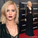 Jennifer Lawrence In Schiaparelli Couture  AT  'The Hunger Games: Mockingjay – Part 2' New York Premiere
