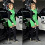 Jennifer Lopez films Hollywood Week for 'American Idol'