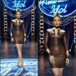 Jennifer Lopez In August Getty Atelier  At  American Idol