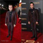 Josh Hutcherson  In ZEGNA –  'The Hunger Games: Mockingjay – Part 2' LA Premiere