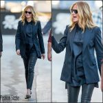 Julia Roberts  in Rag & Bone  at the 'Jimmy Kimmel Show' in Hollywood