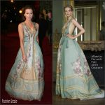 Kate Beckinsale In Alberta Ferretti Couture  AT  The London Evening Standard Theatre Awards