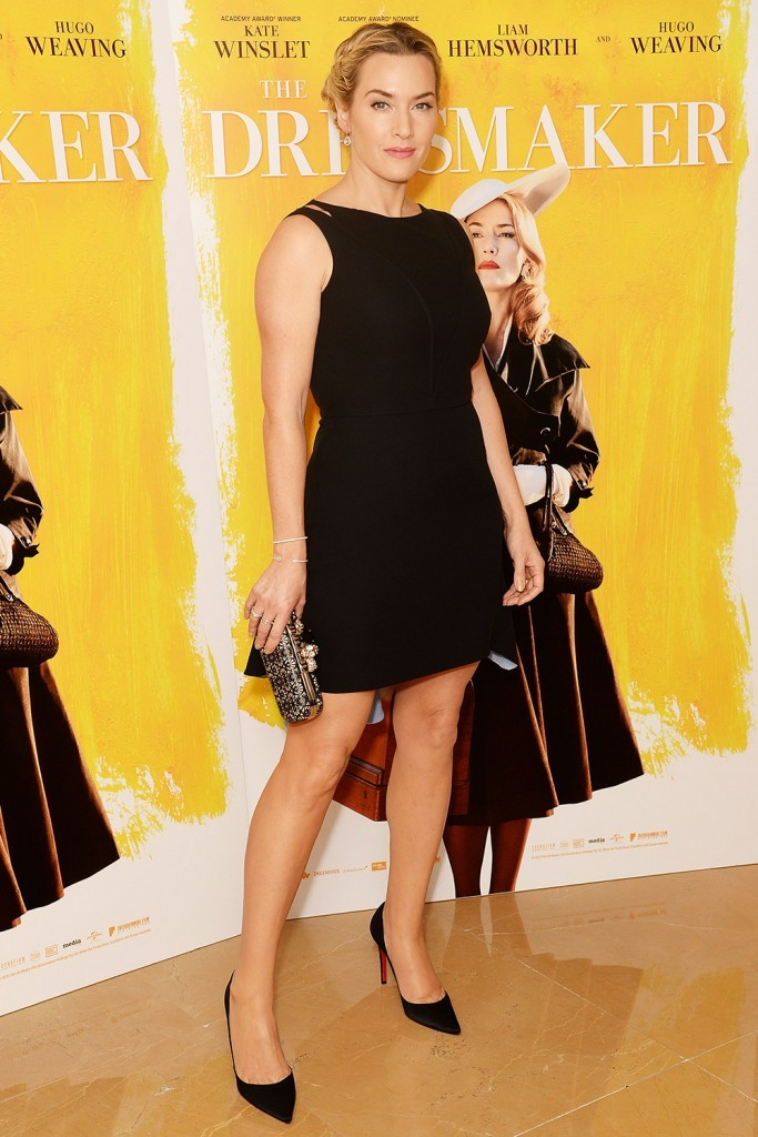 Kate- Winslet- in -Christian -Dior – 'The Dressmaker' -London- Screening