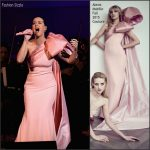 Katy Perry In Alexis Mabille Haute Couture – David Lynch Foundation Benefit Concert