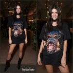 Kendall Jenner  In Givenchy Del Toro Chandler Parsons event at Saks Fifth Avenue in Beverly Hills