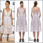 Kerry Washington in Self-Portrait   at the 'MaxMara & Allure Celebration