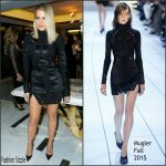 Khloe Kardashian In  Mugler  At  The Hollywood Reporter's Beauty Dinner