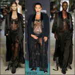 Kim Kardashian In Givenchy  At LACMA 2015 Art+Film Gala