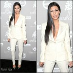Kourtney Kardashian  attends  2015 Baby2Baby Gala at 3Labs