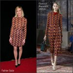 Kirsten Dunst In Gucci At PEN Center USA's 25th Annual Literary Awards Festival