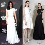 Krysten Ritter In  Zuhair Murad –  'Jessica Jones' New York Series Premiere