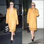 Lady Gaga – Arriving to JFK in NY