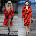 Lady Gaga In Christopher Kane – Out In London