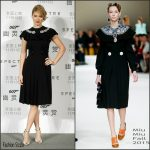 Lea Seydoux In Miu Miu  At 'Spectre' Beijing Photocall