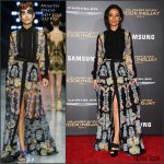 Meta Golding In Mario Dice  At 'The Hunger Games: Mockingjay – Part 2' LA Premiere