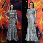 Michelle Forbes In Michael Costello At  The Hunger Games: Mockingjay – Part 2′ Berlin World Premiere