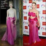 Miley Cyrus in Ulyana Sergeenko Couture at the 46th Anniversary Gala Vanguard Awards