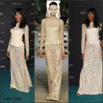 Naomi Campbell  in Givenchy    At LACMA 2015 Art+Film Gala