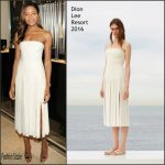 Naomie Harris In  Dion Lee – OMEGA 'Spectre' New York  Cocktail Event