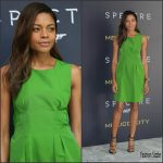 Naomie Harris In Lanvin At 'Spectre' Mexico City Photocall