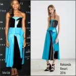 Naomie Harris In Roksanda – OMEGA 'Spectre' New York Screening