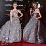 Natalie Dormer  In Vivienne Westwood  At 'The Hunger Games: Mockingjay – Part 2' LA Premiere