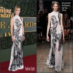 Nicole Kidman In Alexander McQueen AT The London Evening Standard Theatre Awards