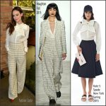 Olivia Wilde In Kate Spade New York & Houghton At Indie Contenders Roundtable