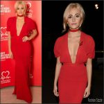 Pixie Lott in Issa at the British Heart Foundation's Tunnel of Love Fundraiser