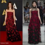 Rachel Weisz In Oscar de la Renta – Academy Of Motion Picture Arts And Sciences' 7th Annual Governors Awards