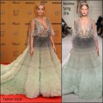 Rita Ora In Marchesa  At  2015 Bambi Awards
