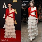 Rooney Mara In Alexander McQueen  At Academy Of Motion Picture Arts And Sciences' 7th Annual Governors Awards