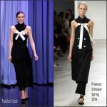 Rooney Mara In Proenza Schouler AT The Tonight Show Starring Jimmy Fallon