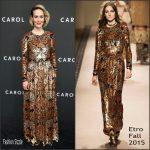 Sarah Paulson in Etro –  'Carol' New York Premiere