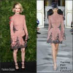 Sarah Paulson In Yanina Couture  AT -The Museum of Modern Art's 8th Annual Film Benefit Honoring Cate Blanchett