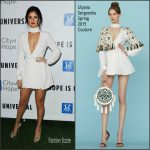 Selena Gomez  In Ulyana Sergeenko –  2015 Spirit of Life Gala in Los Angeles