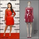 Selena Gomez In Valentino  At 2015 Glamour Women of the Year Awards