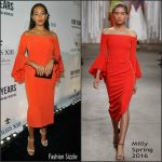 Solange Knowles In Milly At Louis XIII Celebrates '100 Years' The Movie You Will Never See
