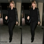 Taylor Swift   spotted leaving Palm Restaurant in Beverly Hills