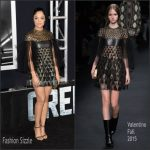 Tessa Thompson In Valentino  At  'Creed' LA Premiere