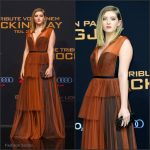 Willow Shields in  Marni –  The Hunger Games: Mockingjay – Part 2′ Berlin World Premiere